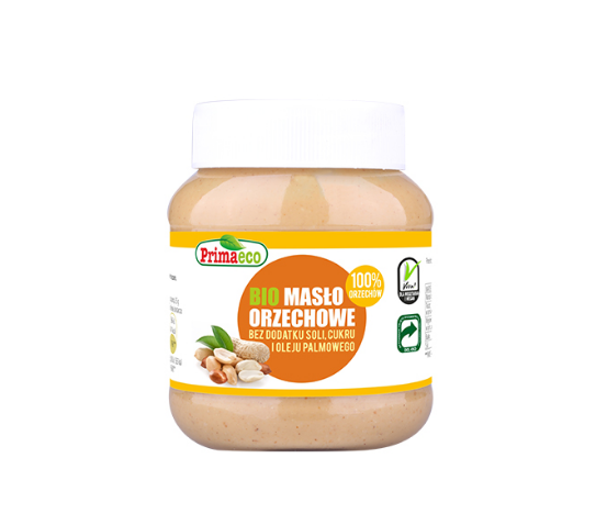 BIO Masło orzechowe 100% orzechów Primaeco